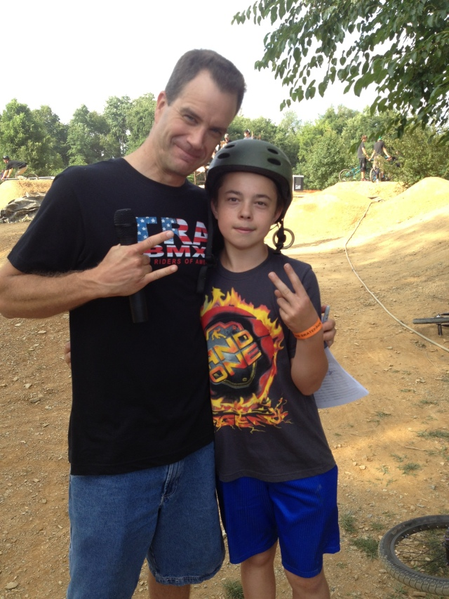 14 year old Steven Dates proved that Autism is no match for his passion for BMX when he competed in Beginner Dirt - Inspiration!