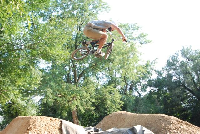 Brad Hawkins - classic moto style.