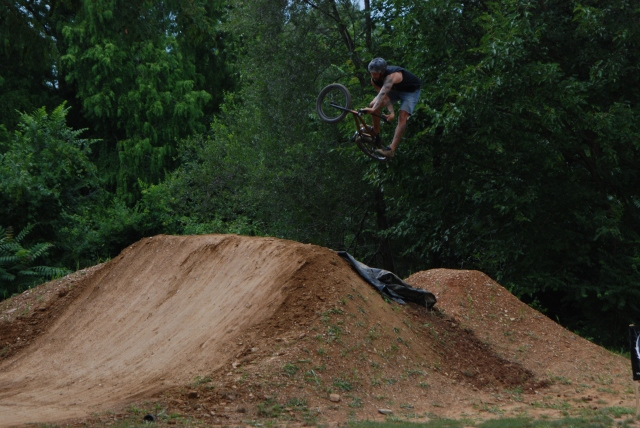 Bethlehem local, Kyle Keck getting rad over the last set