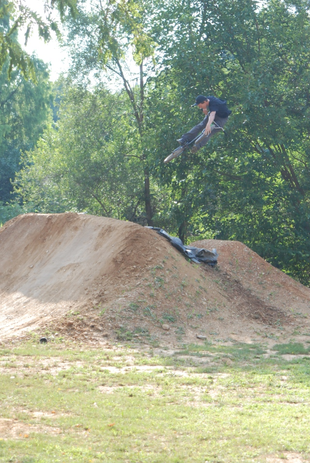 Dan Depre - tire grab whip.