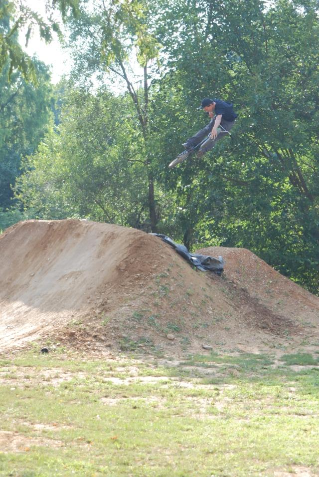 Dan Depre - tire grab whip.