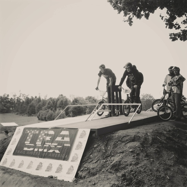 Legendary BMX Race History: Chris Doyle vs Van Homan.  Historic Shot: Chris Denman