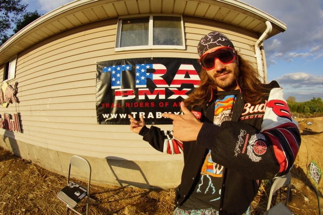 The official voice of TRA, BMX Legend Darryl Nau.  Photo: Al Cayne / Sugarcayne.com
