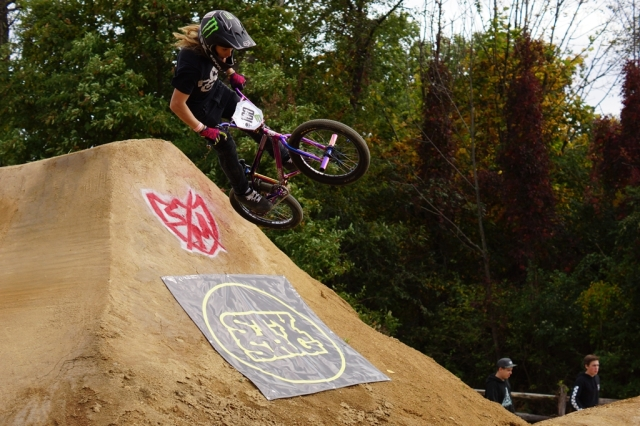 Hyper's Eddie Rovi was the youngest rider to rip it up at the event.  Photo: Al Cayne / Sugarcayne.com