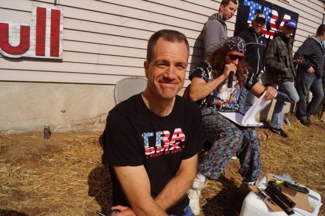 TRA's Mike Gentilcore is smiling because BMX racing is back!  Photo: Al Cayne / Sugarcayne.com